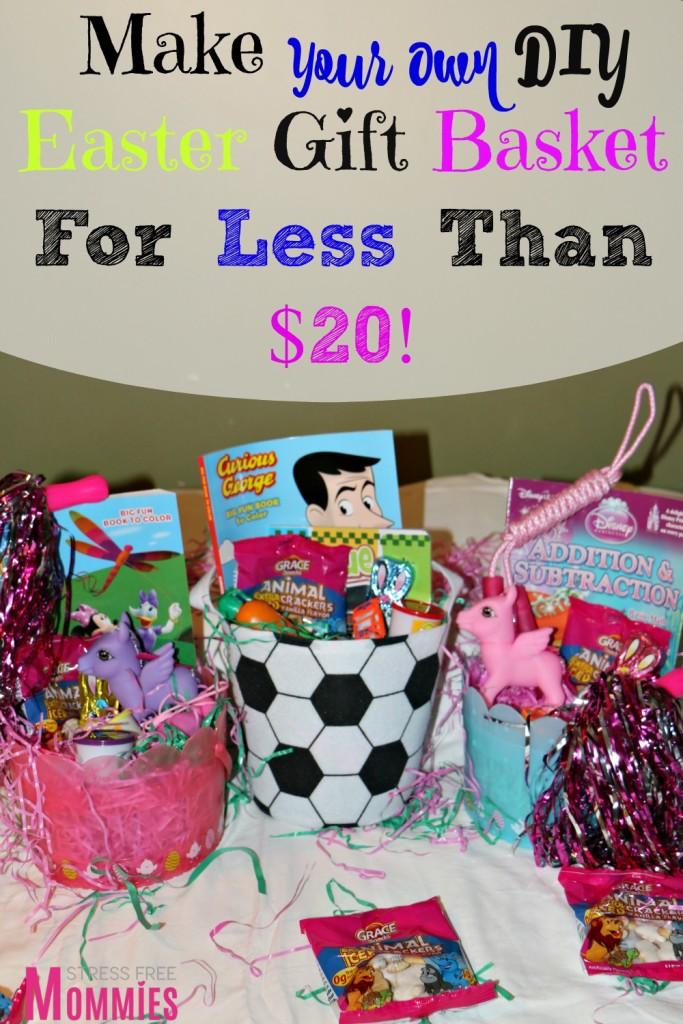 DIY easter gift basket for under $20