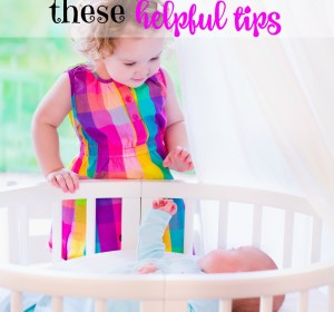 Prepare your child for a new baby with these helpful tips