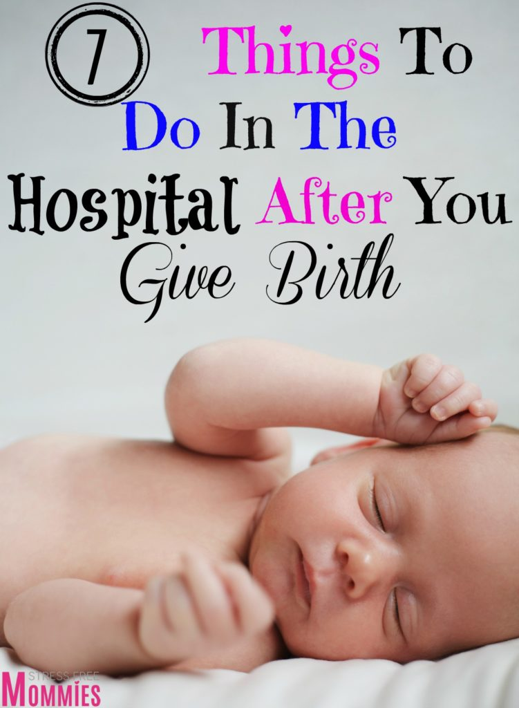 Helpful article that will guide you into what important things to do in the hospital after you give birth. What important paper work to fill out and more! #pregnancy #postpartum