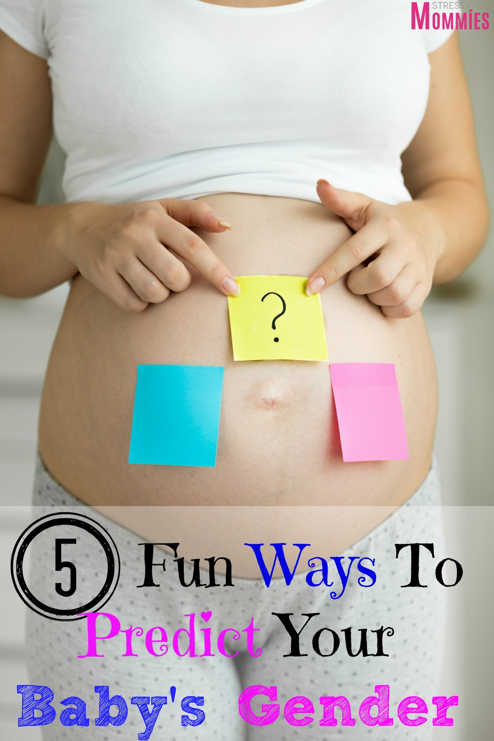 5 Fun Ways You Can Predict Your Baby's Gender - Stress ...