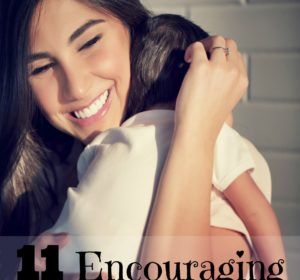 11 encouraging words for moms