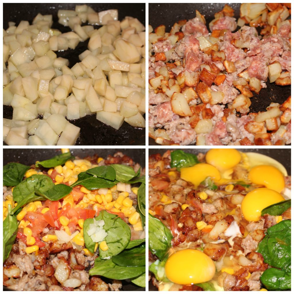 easy potato hash