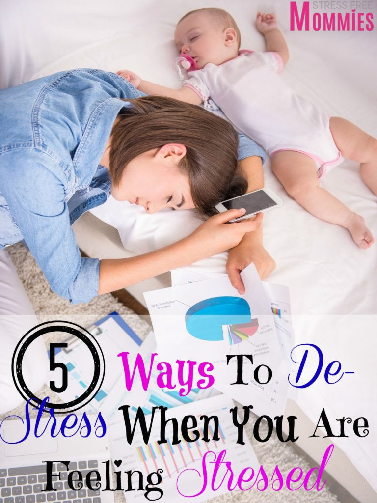 5 ways to de stress when you are feeling stressed