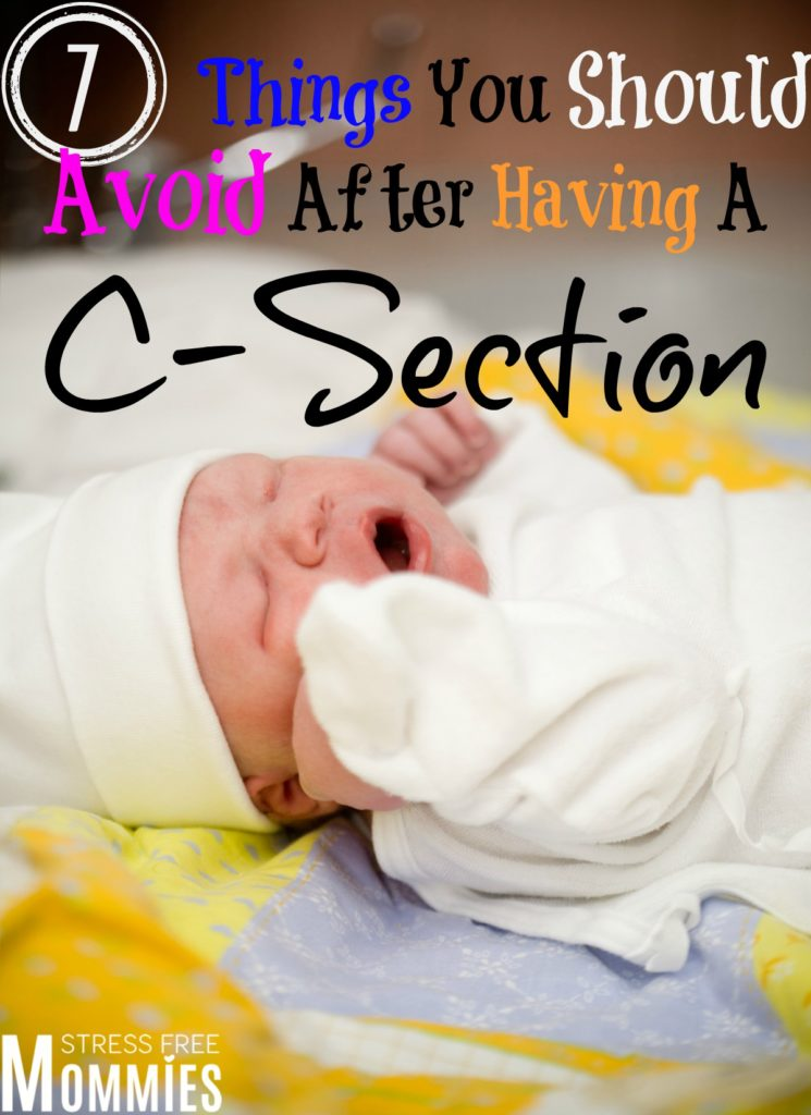 7 things you should avoid after having a c section forumfinder Choice Image