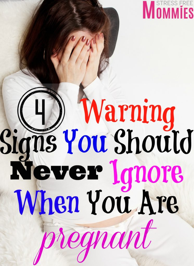 The importance of learning the warning signs you should never ignore when you are pregnant. Find out what you should look out for and what's not normal during your pregnancy