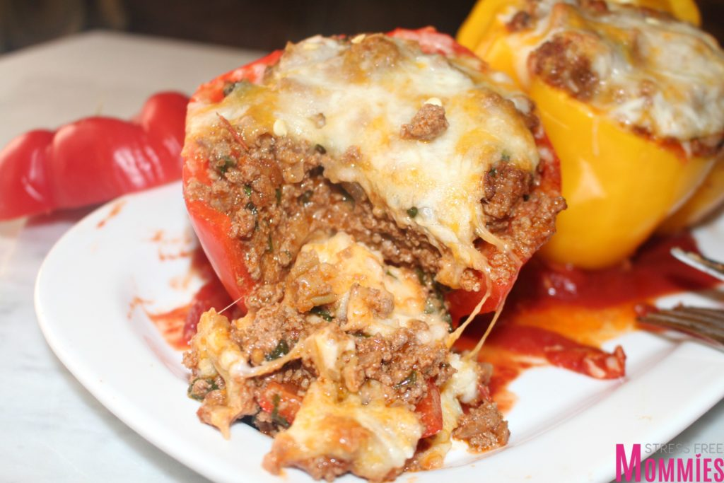 Ground Beef And Mashed Potatoes Stuffed Peppers Stress