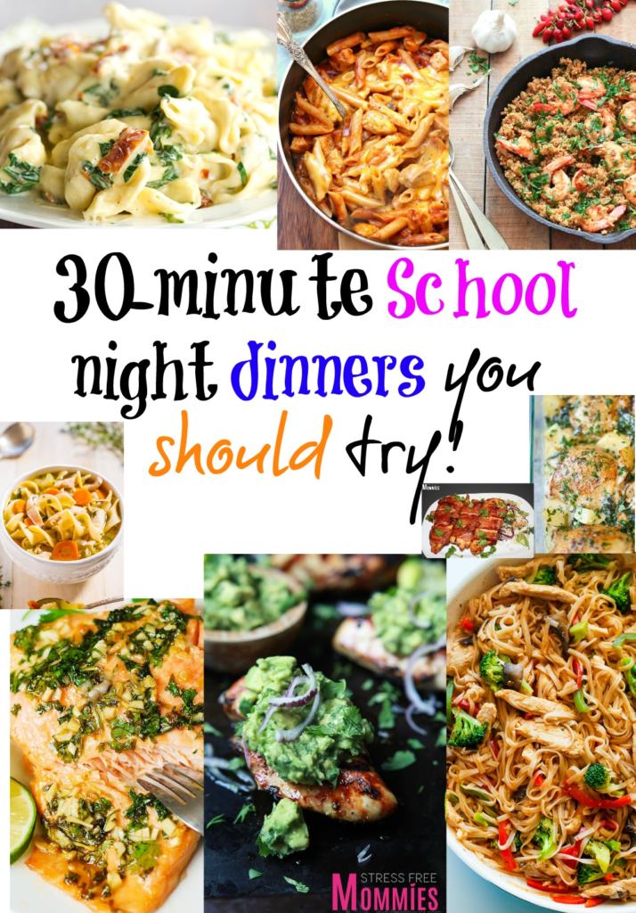 30-minute school night dinner you should try