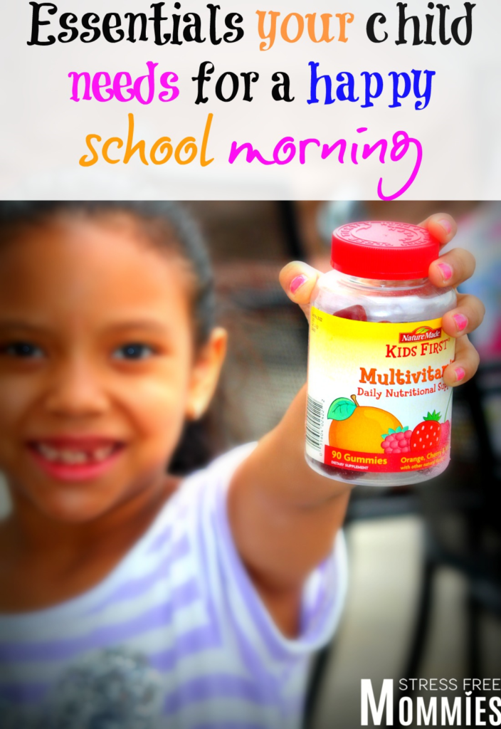 Essentials your child needs for a happy school morning