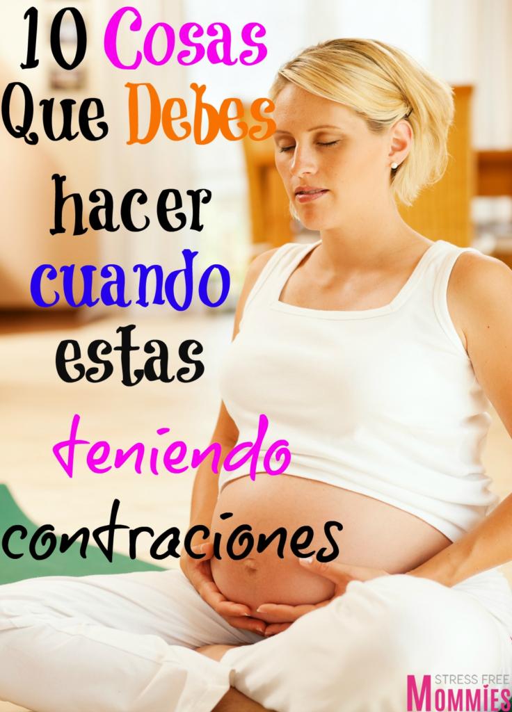 que debes hacer cuando estas teniendo dolores de parto