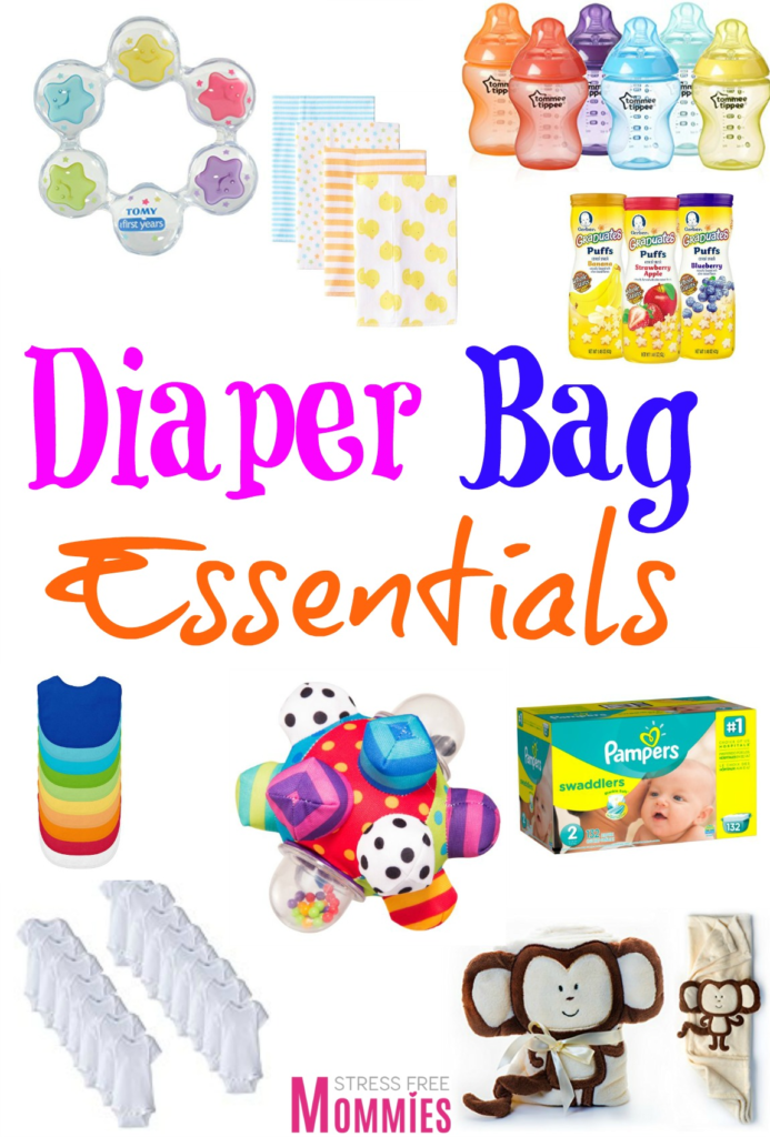 New mama! Here's a fun and helpful list of the baby products you should have in your diaper bag. For a stress free outing with your baby.