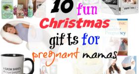 10 fun Christmas gifts for pregnant mamas