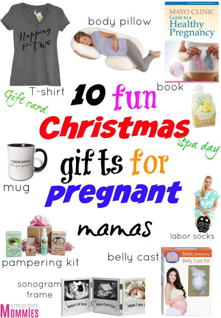 10 fun Christmas gifts for pregnant mamas - Stress Free Mommies