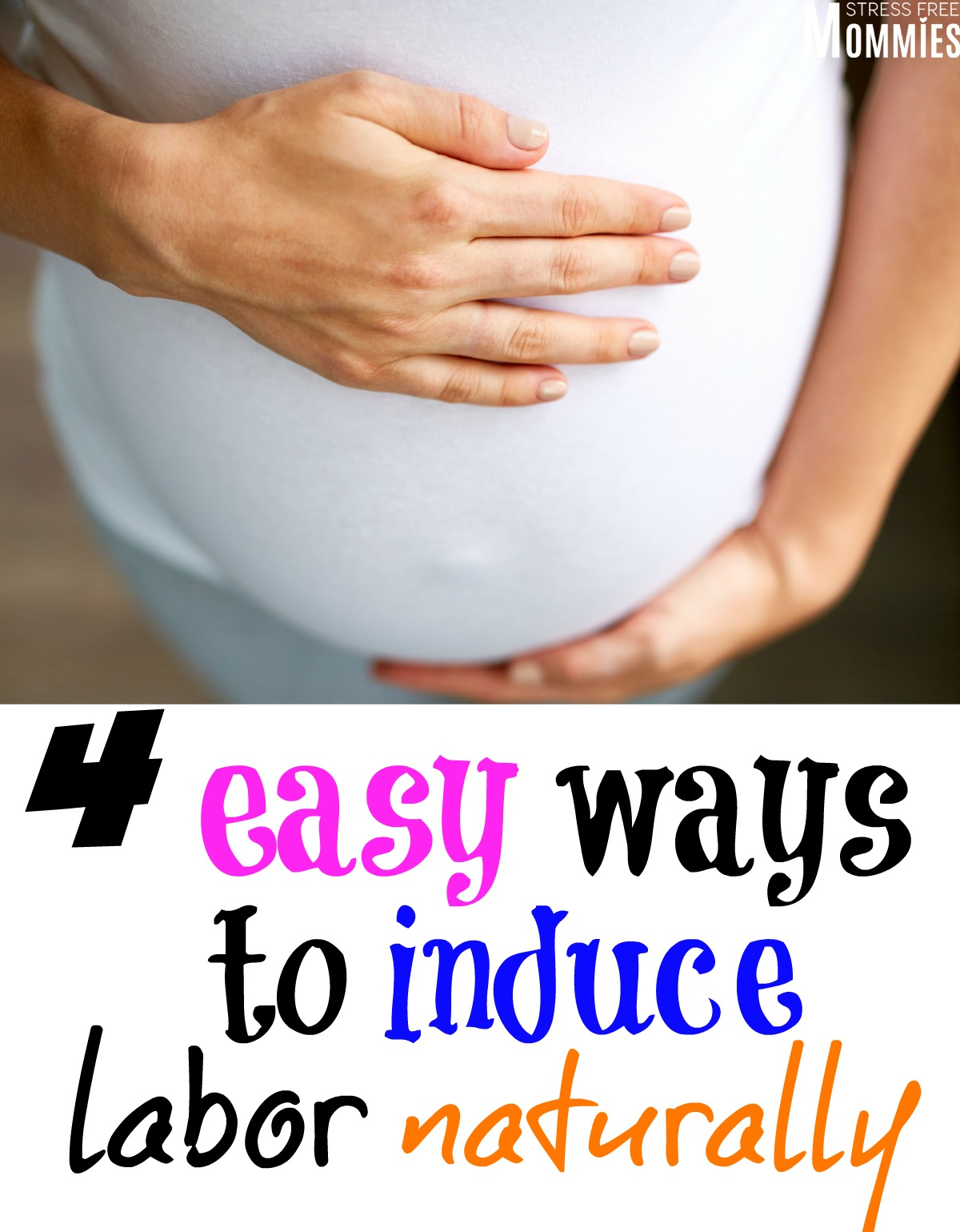 A fun and helpful article that will show you the different was to induce labor naturally. For pregnant women who are over being pregnant, are overdue and just want to speed up labor! #induce #pregnancy