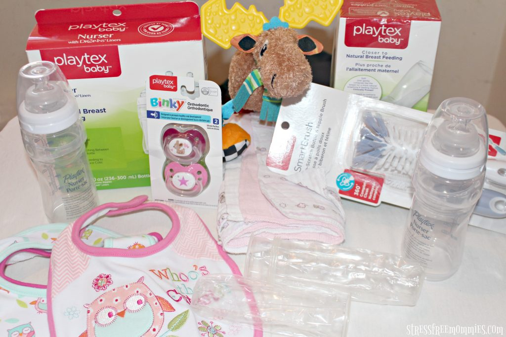 super easy baby shower gift basket