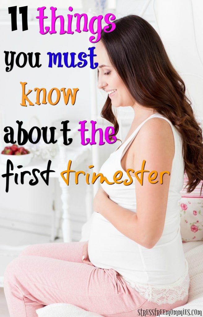 Just found out you're pregnant? This article is for you! Check out what you should expect during the first trimester and be emotionally and physically prepared. Pin now!