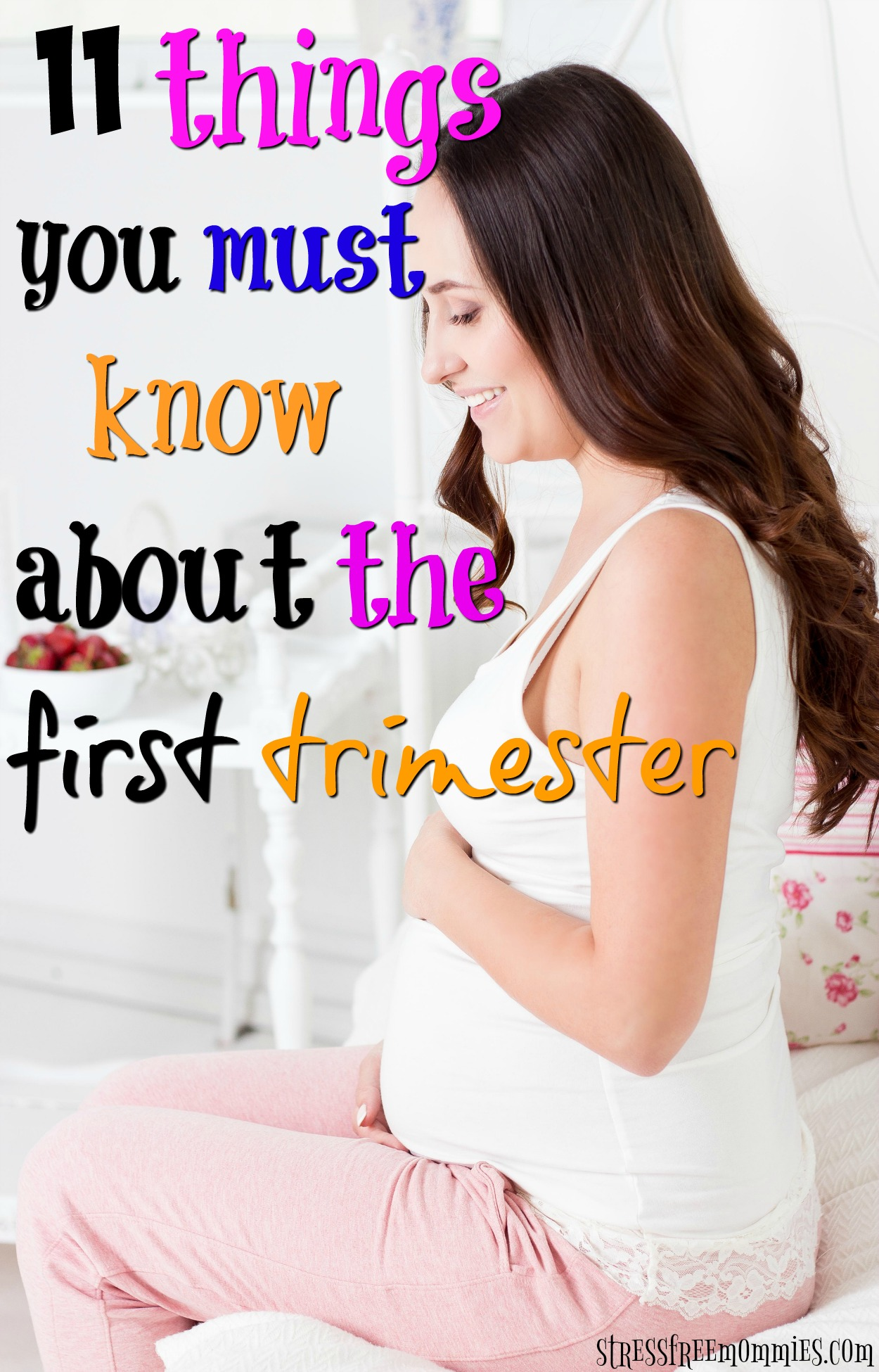 Pregnant for the first time? Here\'s a helpful article on what to expect in the first trimester of pregnancy. Know what happens in the first trimester!