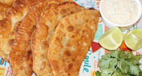 crab and cream cheese empanadas