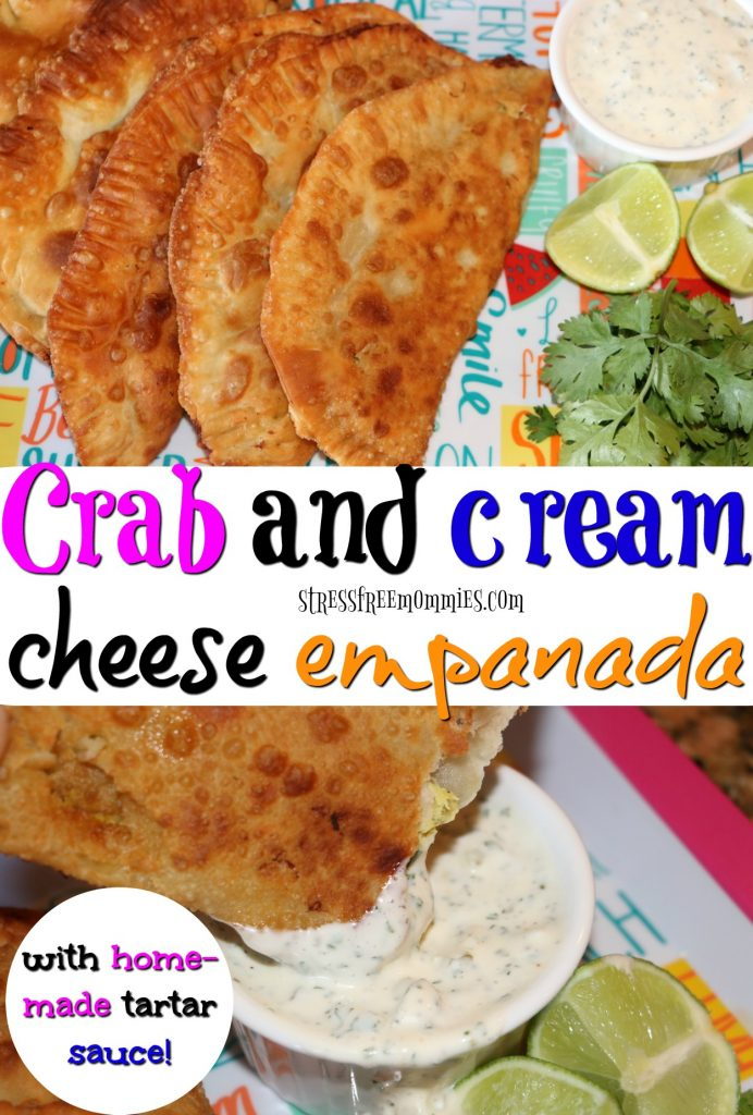 Such a delicious and different appetizer. have you tried these crab and cream cheese empanadas? You have to, I promise it's super easy to make and more delicious to eat! Pin now!