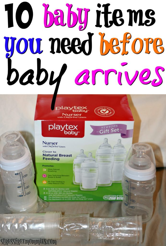 10 baby items you need before baby arrives