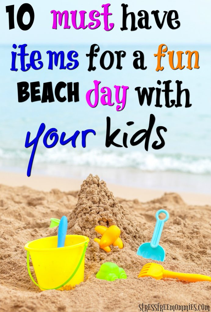 A great read if you want to have a stress free but fun day at the beach with your kids/family. Don't forget to take these beach items, you'll be glad you did.