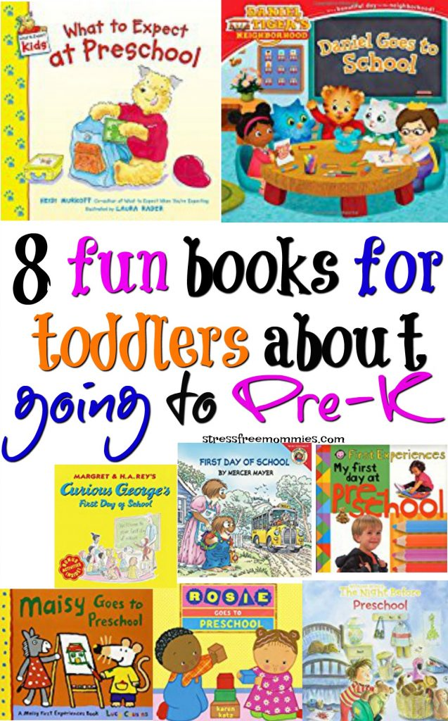 Is your toddler starting pre-school soon or is in pre-school already? These fun books will help your child transition easy into school. Learning and understanding all about pre-k will make it easier to adjust.