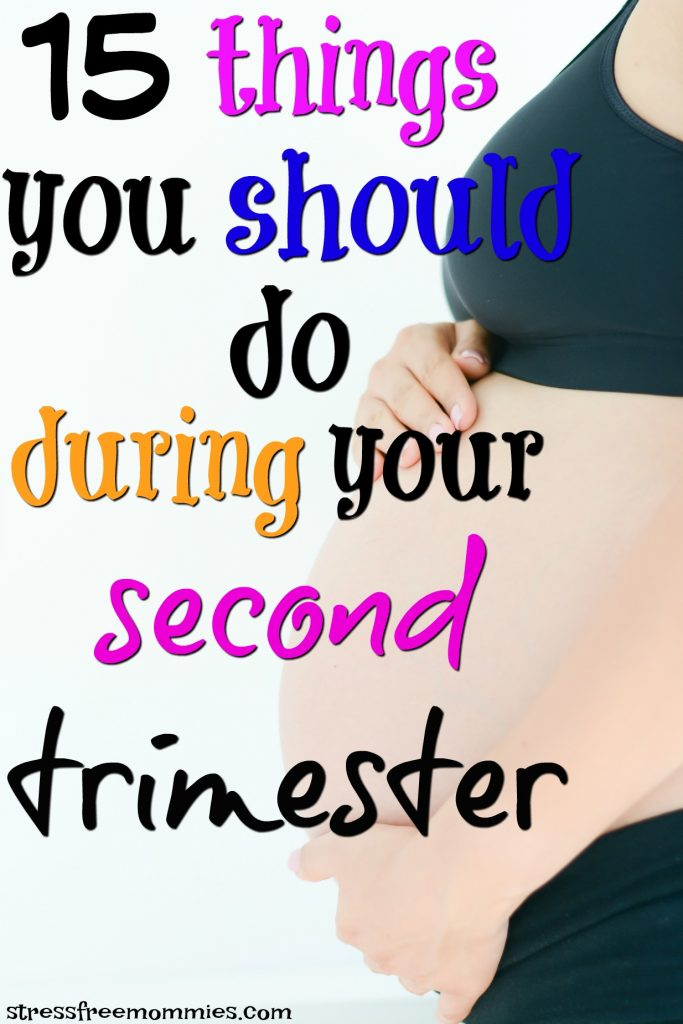 second trimester check list