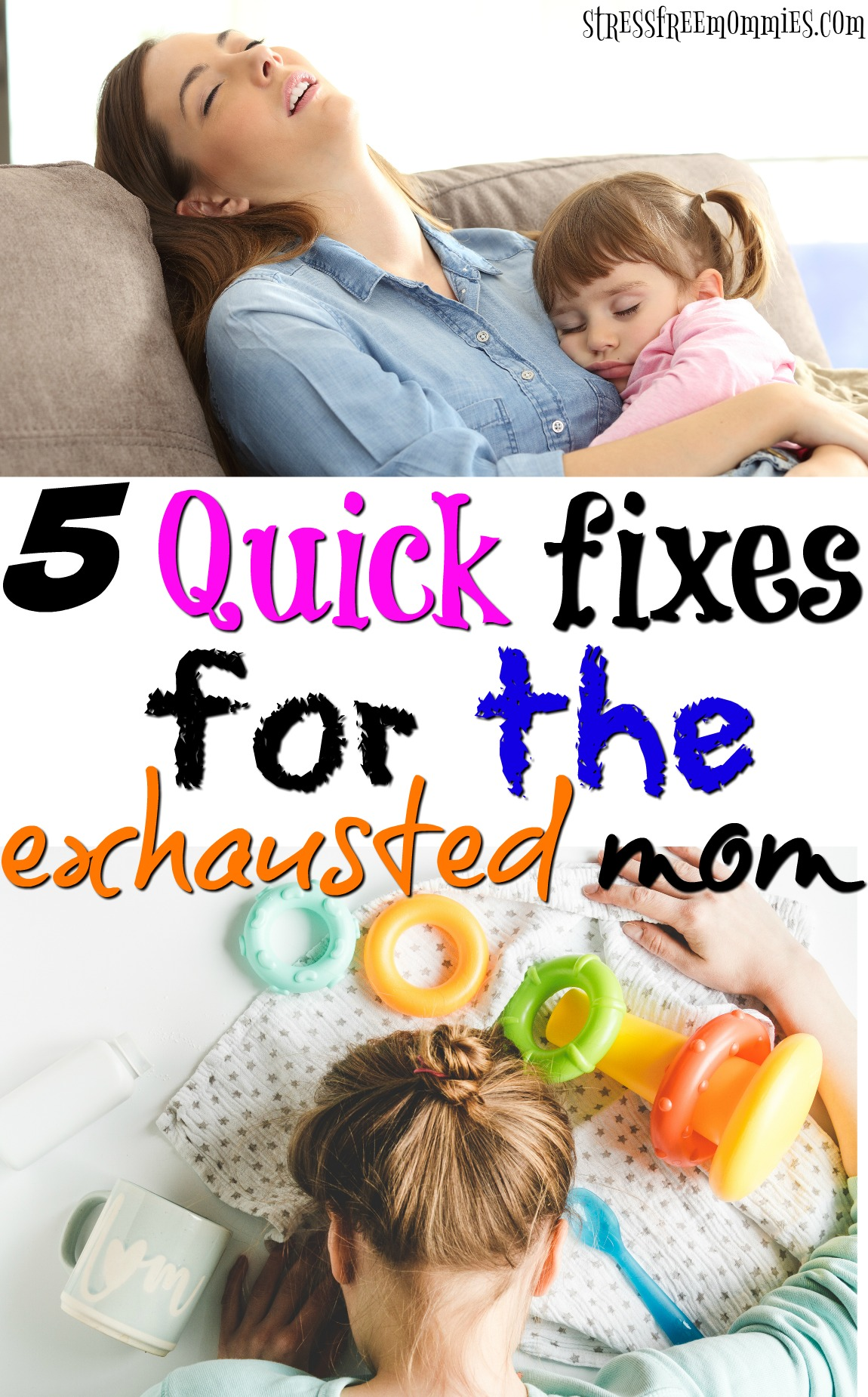 5 quick fixes for when you're feeling exhausted and drained. You give and give and now it's time to care for yourself. Tips to eliminate exhaustion quick!