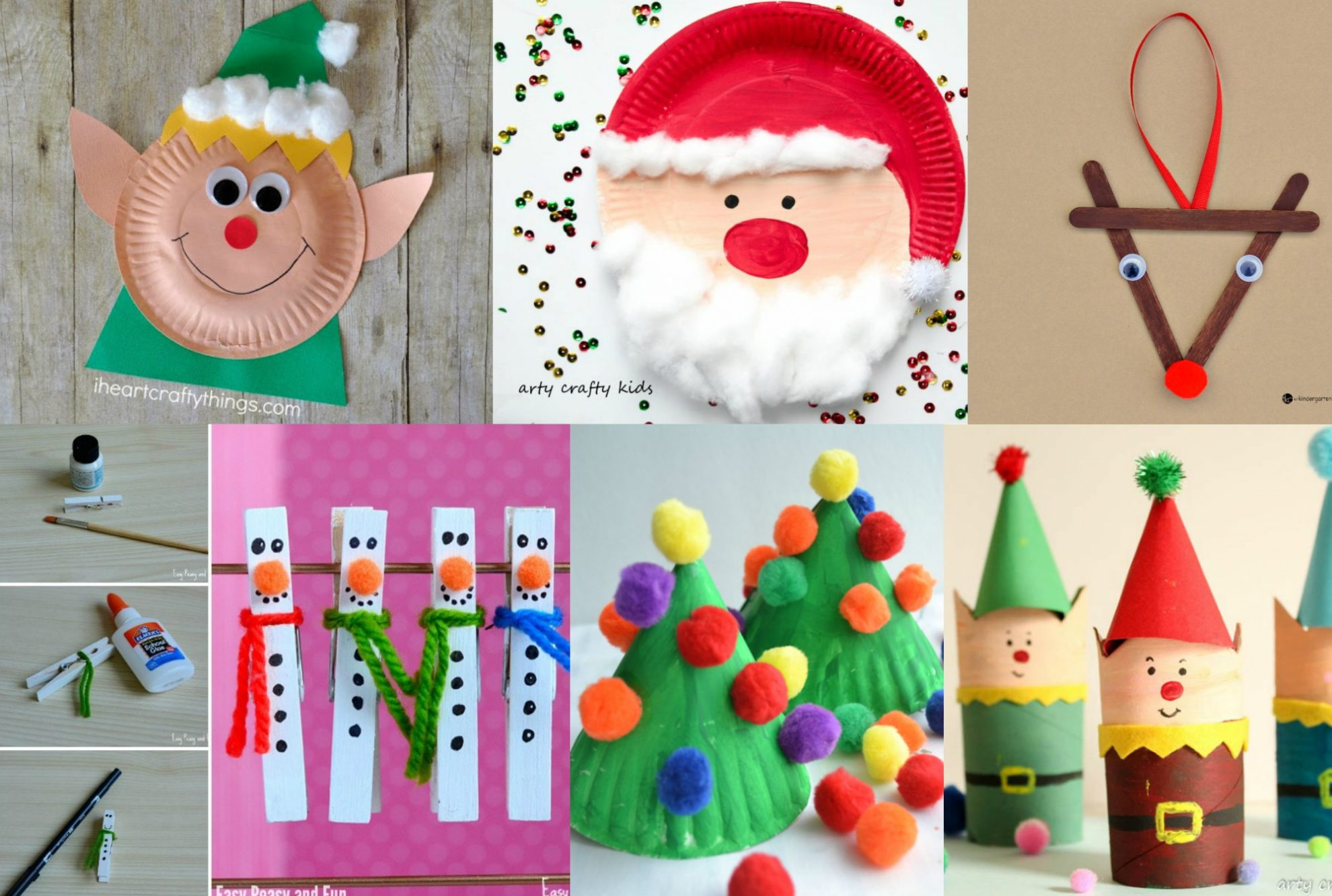 christmas art and craft ideas for kindergarten 15 easy crafts to do with your 7994