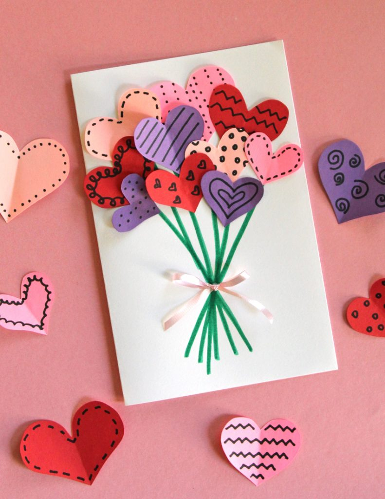 10 Easy And Fun Valentine S Day Crafts For Kids