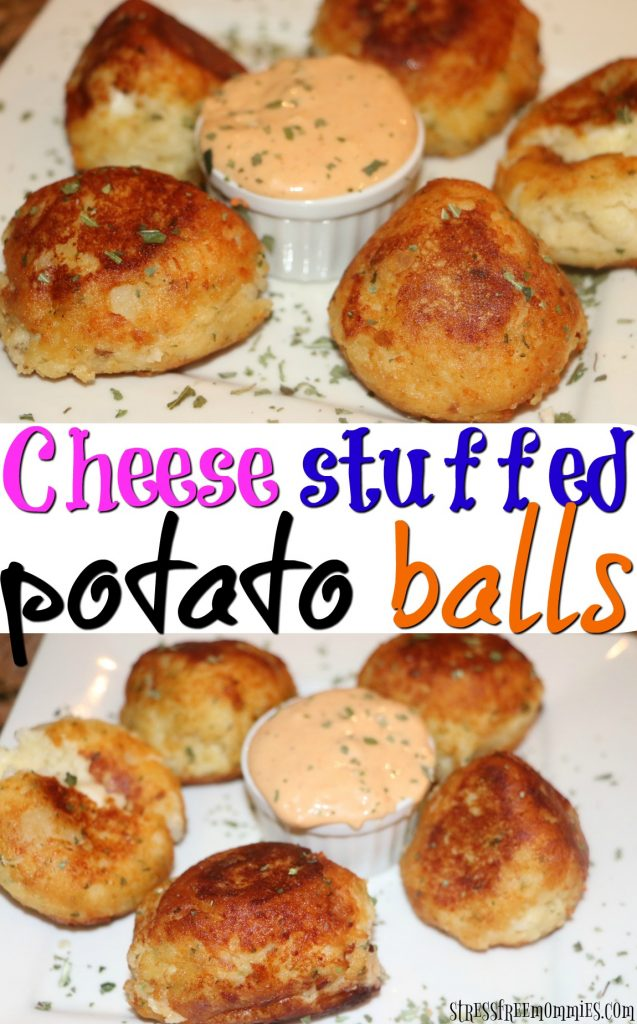 Learn how to make these amazingly delicious cheese stuffed potato balls. Perfect for any occasion, try them for yourself today!