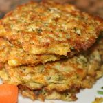 Easy kid- friendly broccoli and carrot fritters