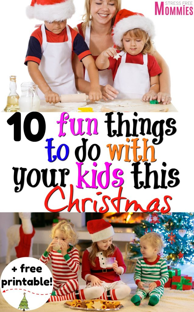 Do you want to make this Christmas extra special? Check out this list of fun things to do with your kids this Christmas! Bond and create fun loving memories for the holidays + Grab your free Christmas checklist!