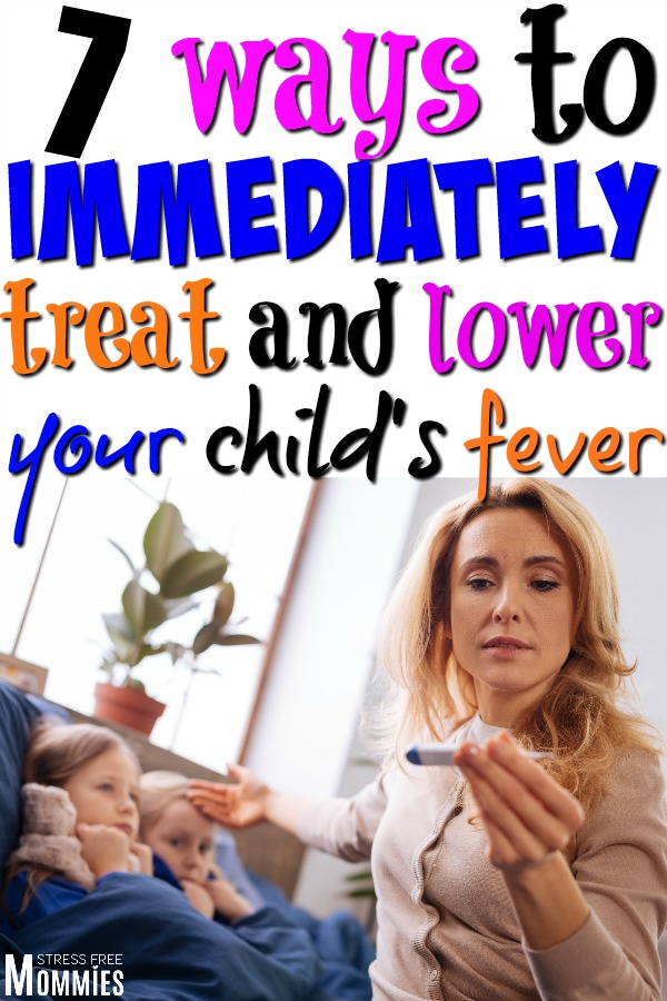 Find out how you can immediately treat your child's fever with these surefire ways! Lower your child's fever today by learning these tips and tricks!