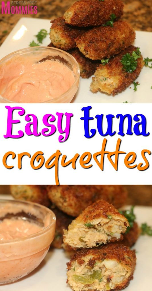 How to make the most delicious tuna croquettes you have ever tasted. Super quick and easy appetizer. Easy to make tuna croquettes.