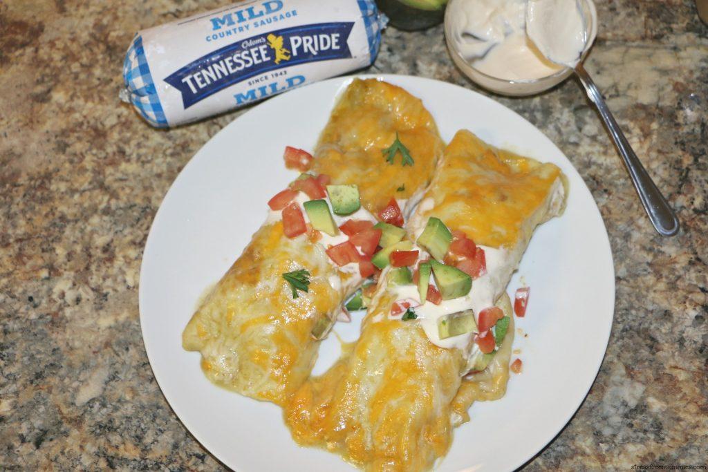 easy enchiladas for breakfast