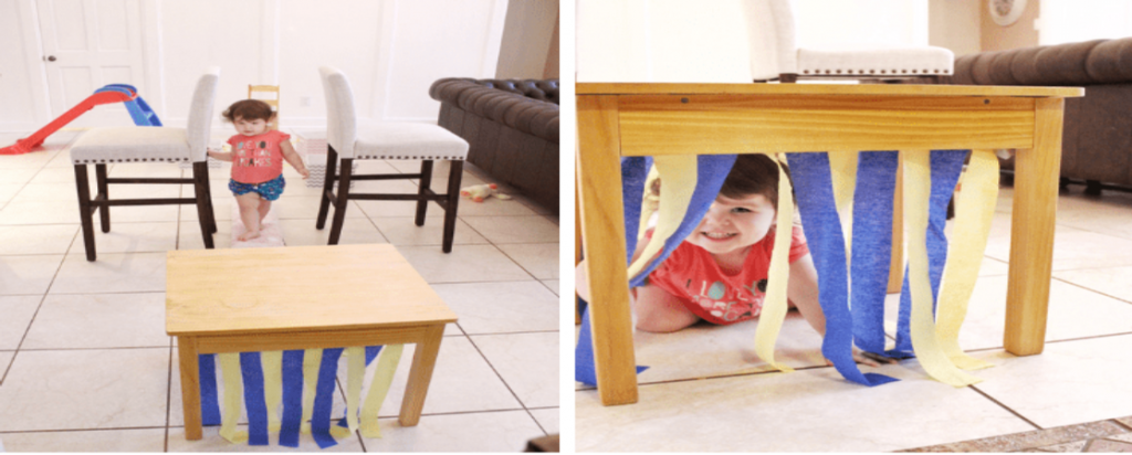 easy obstacle course for kids