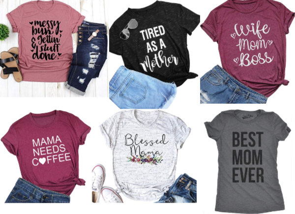 top graphic tees for moms