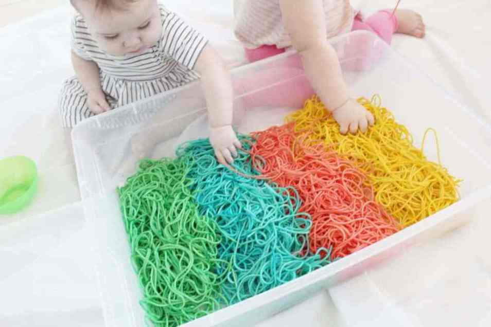 sensory play ideas for toddlers