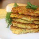 easy corn fritters recipe
