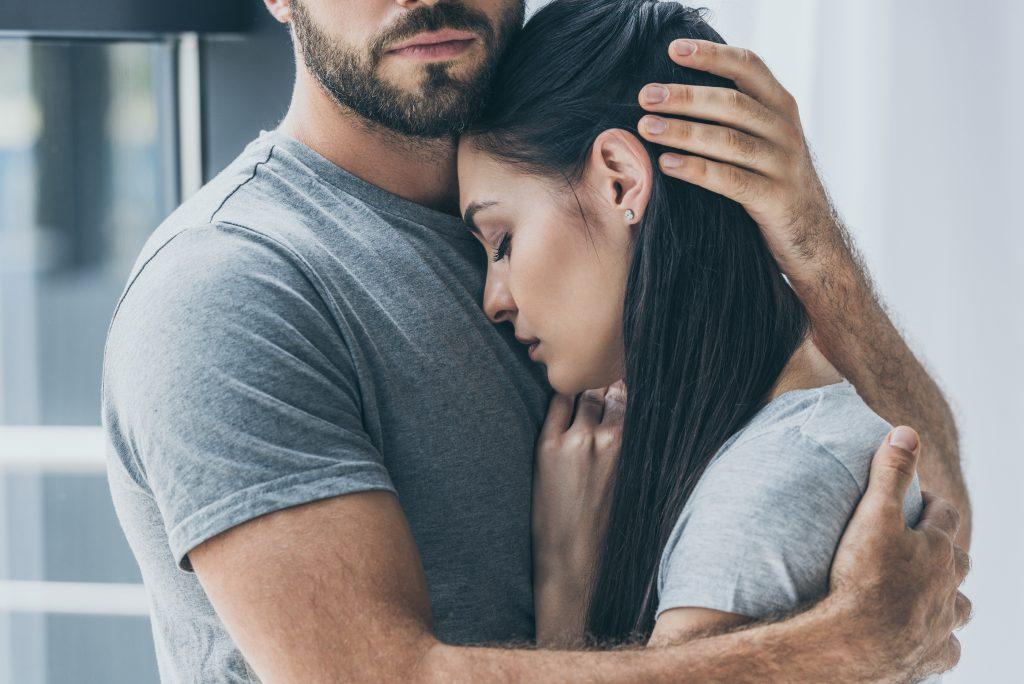 couple going through a miscarriage